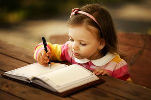 Ilustración de Cómo Motivar a un Niño a Escribir