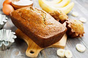 Ilustración de Cómo preparar pan de banana