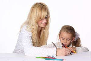 Ilustración de Cómo ayudar en la tarea escolar