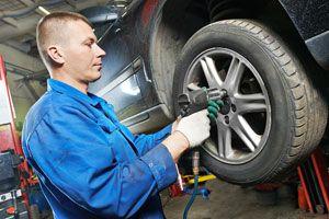 Ilustración de Cómo controlar los neumáticos