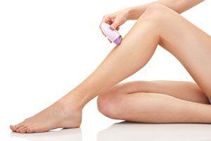 Ilustración de Cómo depilarse las piernas
