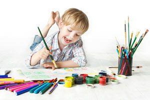 Ilustración de Cómo iniciar a los niños en el arte