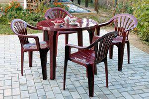 Ilustración de Cómo conservar los muebles de plástico del patio