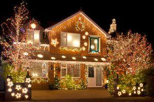 Ilustración de Cómo comprar luces navideñas exteriores