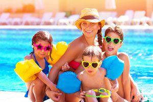 Ilustración de Cómo organizarnos con nuestros hijos en las vacaciones