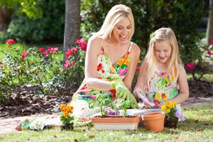 Ilustración de Cómo iniciar a los niños en la jardinería