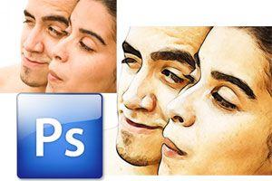 Ilustración de Como crear el efecto dibujo en una fotografía