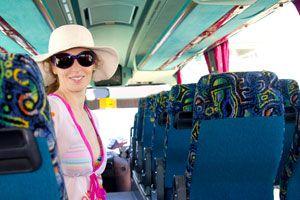 Ilustración de Cómo hacer mas Placentero un Viaje en Omnibus