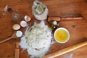 Ilustración de Cómo preparar Masa para Tarta Dulce
