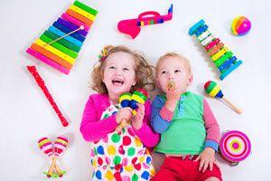 Ilustración de Cómo hacer Instrumentos Musicales caseros para Niños
