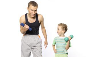 Ilustración de Cómo volver más activos a los niños