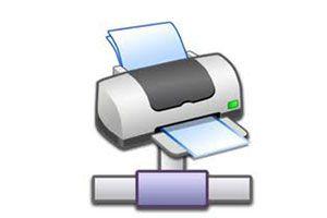 Ilustración de Cómo Conectar Dos Computadoras a una Impresora