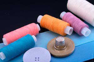 Ilustración de Cómo comenzar a coser. Primeros pasos.