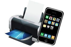Ilustración de Cómo imprimir desde un iPhone