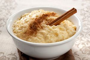 Ilustración de Cómo hacer arroz con leche bajo en calorías