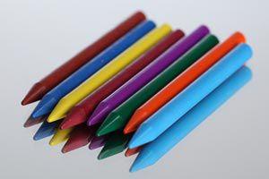 Ilustración de Cómo hacer crayones multicolores