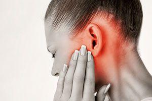 Ilustración de Causas del dolor de oído