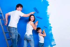 Ilustración de Cómo Pintar una Habitación Paso a Paso
