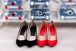 Ilustración de Cómo guardar el calzado de verano durante el invierno