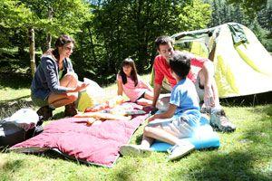 Ilustración de Cómo elegir el lugar donde acampar