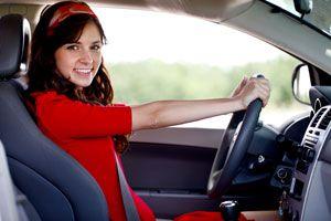 Ilustración de Cómo sentarse correctamente al conducir