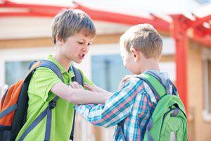 Ilustración de C&oacutemo prevenir la Violencia Escolar