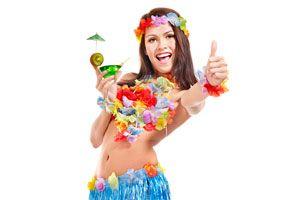 Ilustración de Cómo Decorar una Fiesta Hawaiana