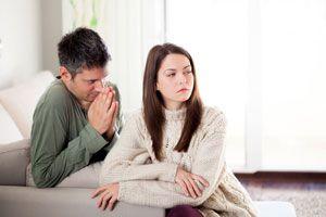 Ilustración de Cómo pedirle disculpas a tu pareja