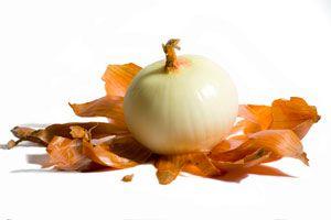 Cómo decorar con piel de cebolla