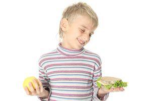 Ilustración de Cómo incentivar una alimentación sana en los niños