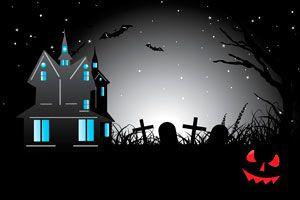 Ilustración de Cómo decorar la casa para una fiesta temática de terror