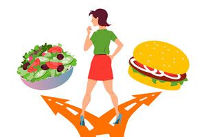 Ilustración de Cómo mejorar los hábitos alimenticios