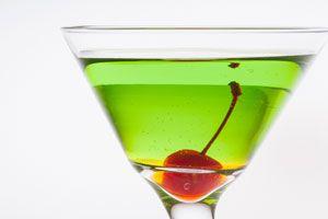 Ilustración de Cómo hacer tragos y bebidas verdes