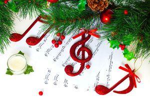 Ilustración de Cómo musicalizar la cena de Navidad