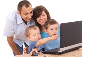 Ilustración de Cómo darle un buen mantenimiento a la computadora familiar