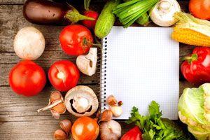 Ilustración de Cómo hacer un menú vegetariano para Navidad