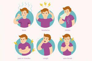 Ilustración de Cómo diferenciar un resfrío de una alergia