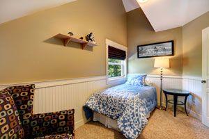 Ilustración de Cómo maximizar el espacio de un dormitorio pequeño