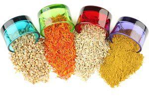 Ilustración de Cómo decorar objetos con semillas