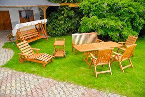 Ilustración de Cómo elegir los muebles para el jardín