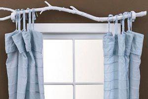 Ilustración de Cómo hacer originales barrales de cortinas