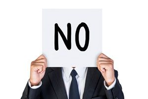 Ilustración de Cómo decir que no en el trabajo
