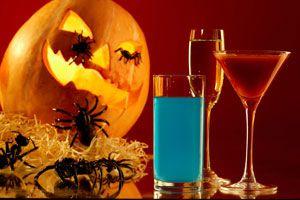 Ilustración de Cómo hacer tragos para Halloween