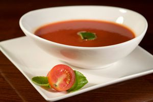 Ilustración de Cómo hacer sopa de tomates