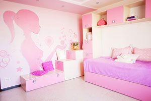Ilustración de Cómo decorar las paredes de un cuarto de niños