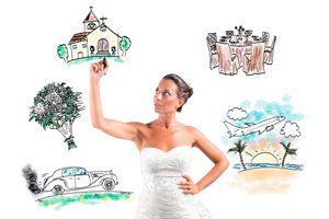 Ilustración de Cómo organizar una boda