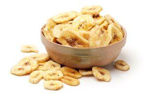 Ilustración de C&oacutemo hacer Chips de Banana