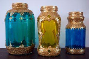 Ilustración de Cómo hacer Lámparas Marroquíes con Frascos