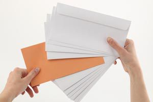 Ilustración de Cómo hacer un organizador de sobres