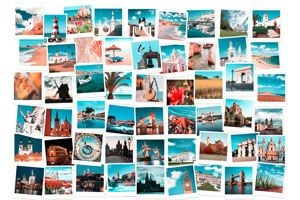 Ilustración de Cómo hacer un divisor de ambientes con fotografías